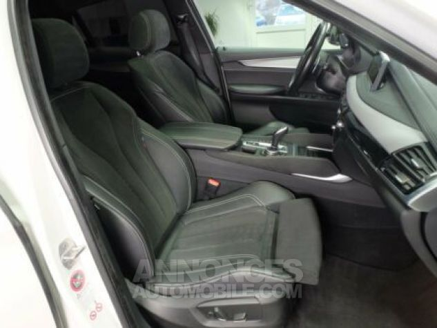 BMW X6 E71 M50D 381CH BLANC Occasion - 11