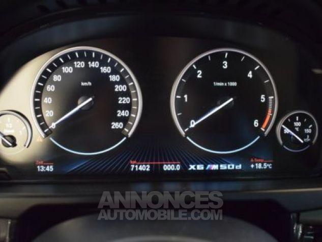 BMW X6 F16 M50DA 381CH NOIR Occasion - 11