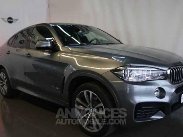 BMW X6 F16 XDRIVE 40DA 313CH M SPORT 2018 GRIS  SPACEGRAU Occasion - 0