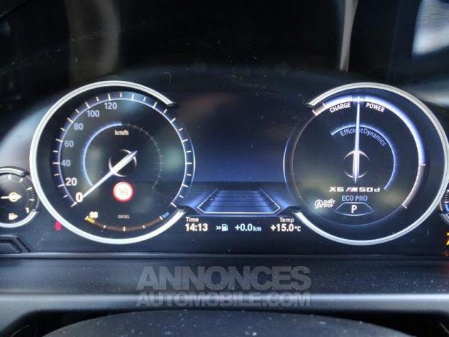 BMW X6 M50d 381ch Carbonschwarz Occasion - 13