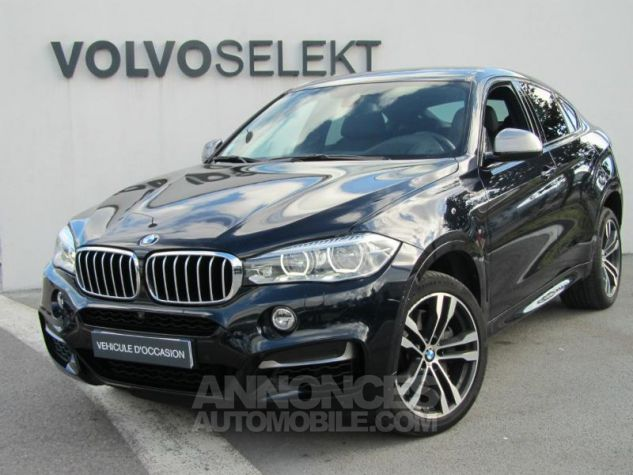 BMW X6 M50d 381ch Carbonschwarz Occasion - 0