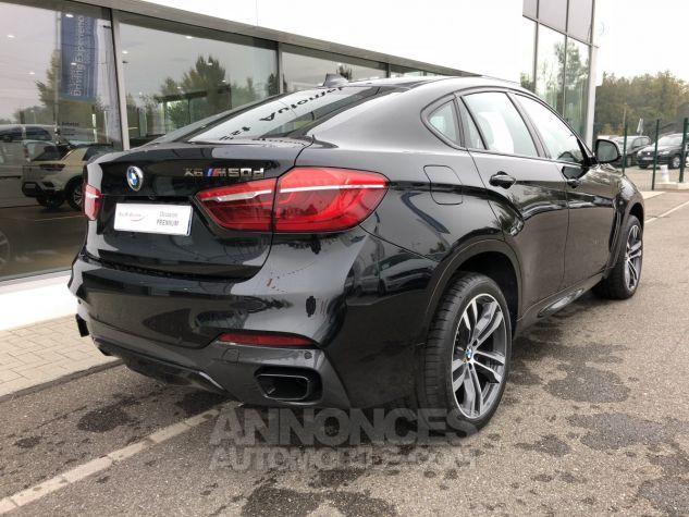 BMW X6 M50dA 381ch Saphirschwarz Occasion - 5