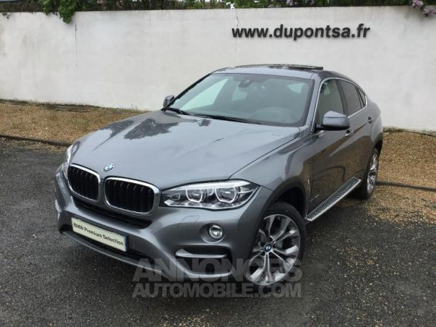 BMW X6 xDrive 30dA 258ch Edition Spacegrau  metallise Occasion - 0