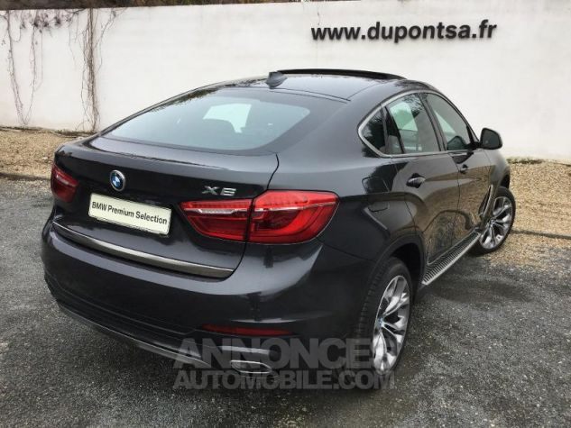 BMW X6 xDrive 30dA 258ch Exclusive Sophistograu metallisee Occasion - 1