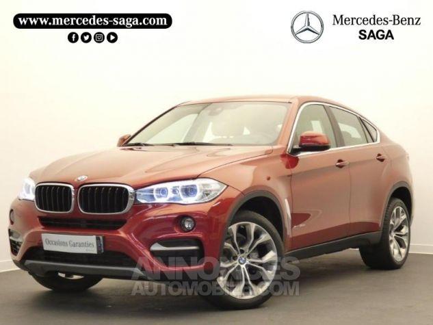 BMW X6 xDrive 30dA 258ch Lounge Plus Rouge Flamencorot Occasion - 0