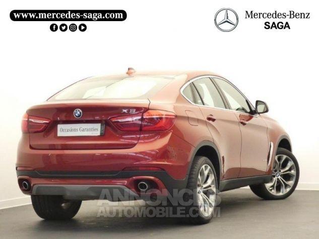 BMW X6 xDrive 30dA 258ch Lounge Plus Rouge Flamencorot Occasion - 1