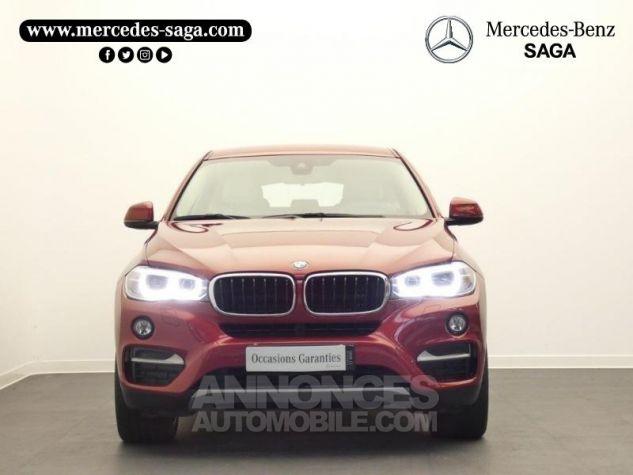 BMW X6 xDrive 30dA 258ch Lounge Plus Rouge Flamencorot Occasion - 4