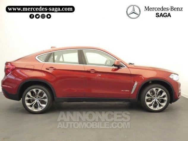 BMW X6 xDrive 30dA 258ch Lounge Plus Rouge Flamencorot Occasion - 5