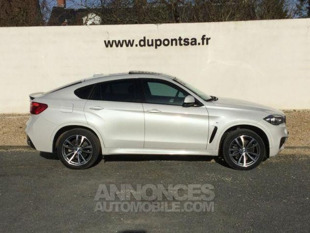 BMW X6 xDrive 30dA 258ch M Sport BLANC Occasion - 11