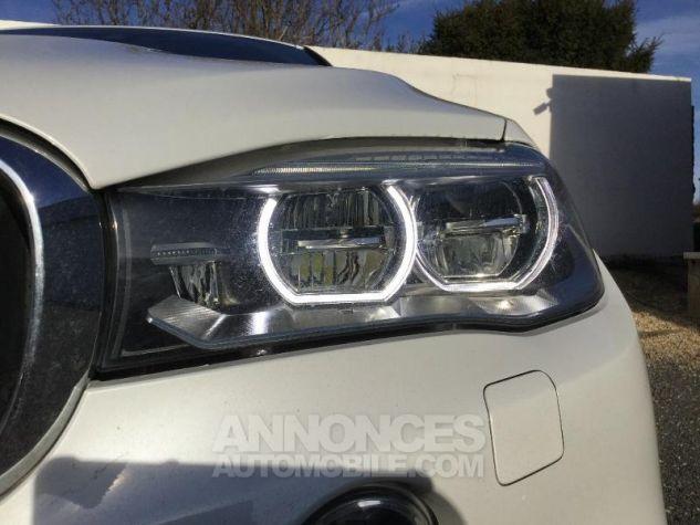 BMW X6 xDrive 30dA 258ch M Sport BLANC Occasion - 12