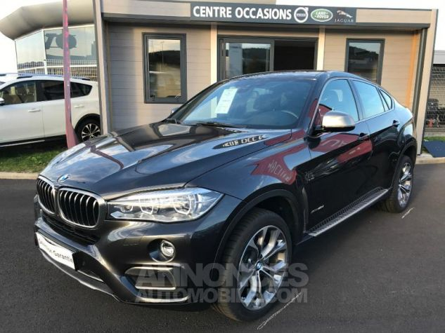 BMW X6 xDrive 40dA 313ch Exclusive gris fonce Occasion - 0