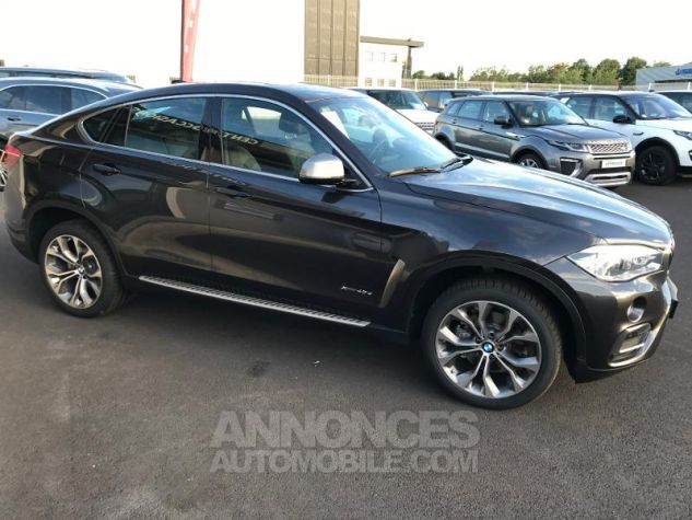 BMW X6 xDrive 40dA 313ch Exclusive gris fonce Occasion - 3