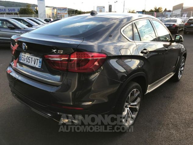 BMW X6 xDrive 40dA 313ch Exclusive gris fonce Occasion - 4