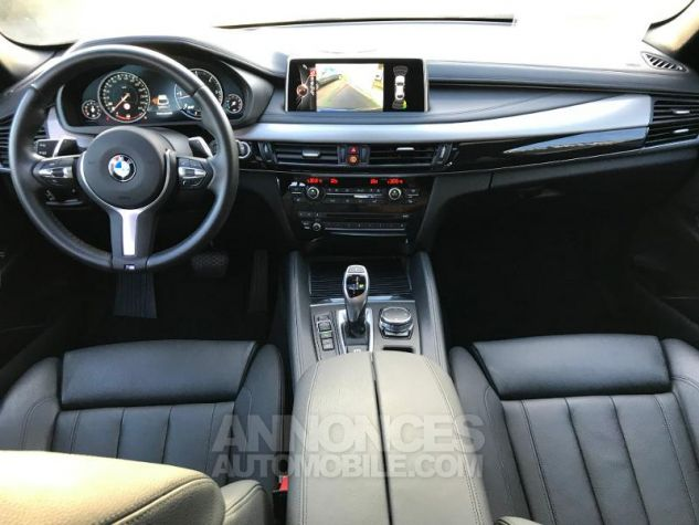 BMW X6 xDrive 40dA 313ch Exclusive gris fonce Occasion - 10