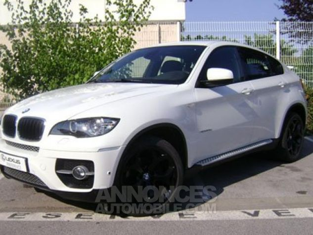 BMW X6 xDrive30d 245ch Exclusive A BLANC Occasion - 0