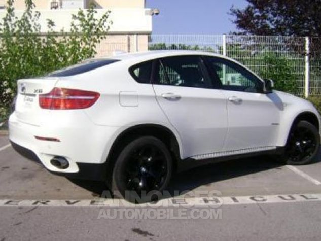 BMW X6 xDrive30d 245ch Exclusive A BLANC Occasion - 1