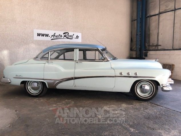 Buick Super eight bleu Occasion - 3