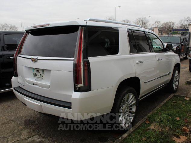 Cadillac ESCALADE 6.2L V8 425 CV PLATINUM Blanc Nacre Neuf - 5