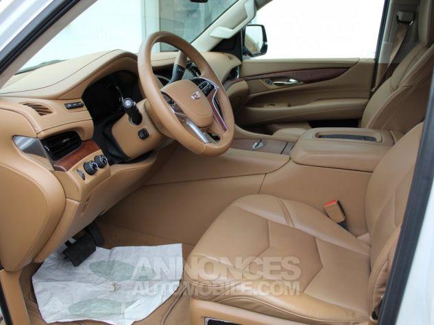 Cadillac ESCALADE 6.2L V8 425 CV PLATINUM Blanc Nacre Neuf - 6