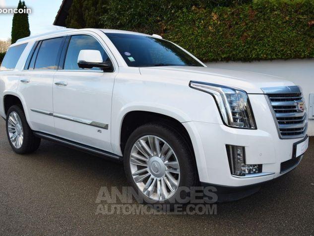 Cadillac ESCALADE PRENIUM blanc nacre Occasion - 0
