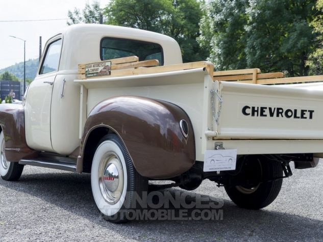 Chevrolet 3100 pick-up Blanc/ Brun Occasion - 4