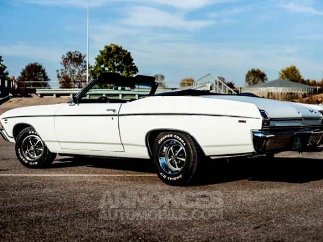 Chevrolet Chevelle SS Blanc Occasion - 0
