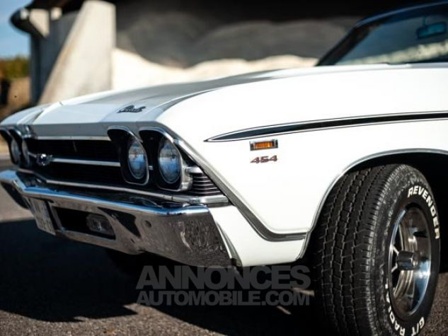 Chevrolet Chevelle SS Blanc Occasion - 3
