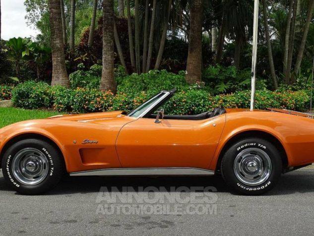 Chevrolet Corvette 1974 orange Occasion - 0