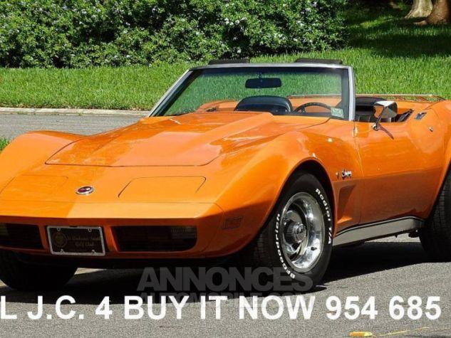 Chevrolet Corvette 1974 orange Occasion - 1