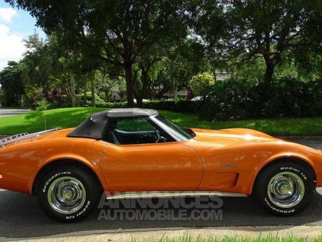 Chevrolet Corvette 1974 orange Occasion - 2