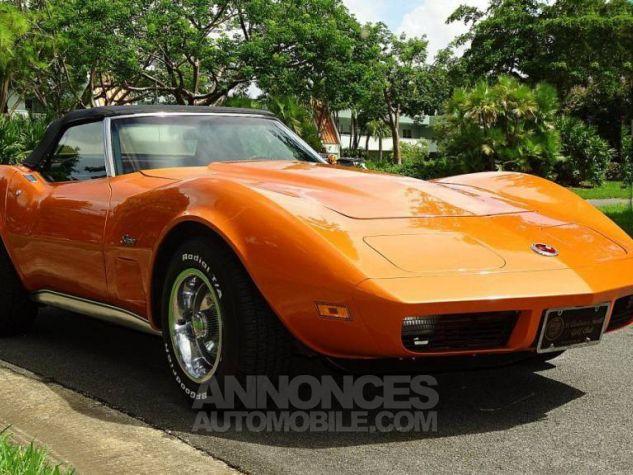 Chevrolet Corvette 1974 orange Occasion - 3