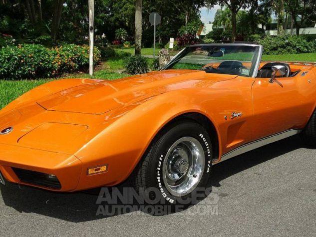 Chevrolet Corvette 1974 orange Occasion - 4
