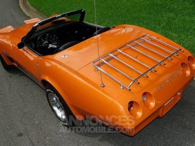 Chevrolet Corvette 1974 orange Occasion - 6