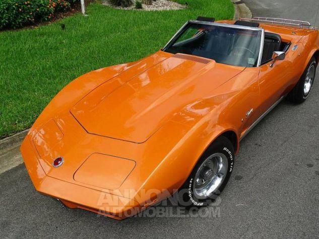 Chevrolet Corvette 1974 orange Occasion - 7