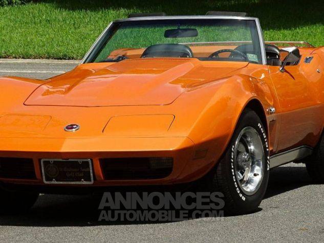 Chevrolet Corvette 1974 orange Occasion - 8