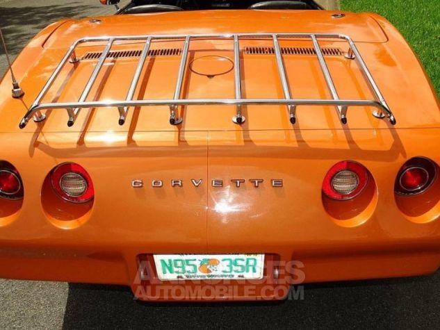 Chevrolet Corvette 1974 orange Occasion - 9