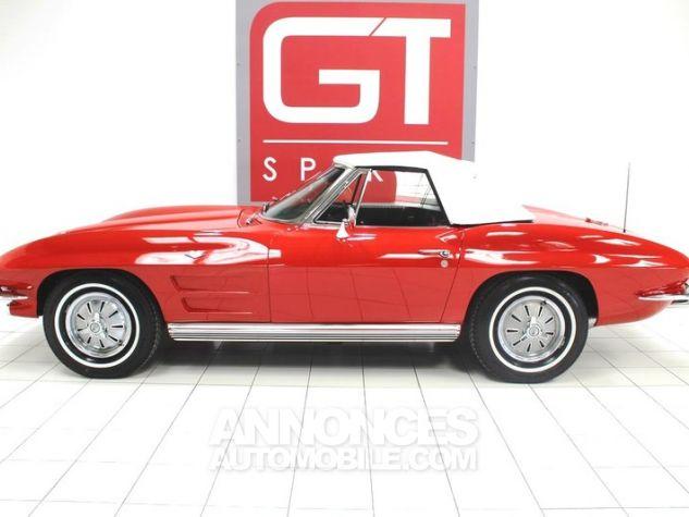 Chevrolet Corvette C2 Cabriolet Roman Red 923 A Occasion - 2
