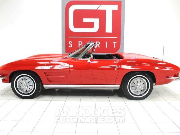 Chevrolet Corvette C2 Cabriolet Roman Red 923 A Occasion - 3