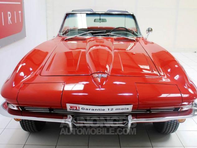 Chevrolet Corvette C2 Cabriolet Roman Red 923 A Occasion - 4