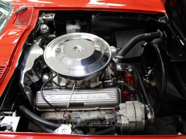 Chevrolet Corvette C2 Cabriolet Roman Red 923 A Occasion - 8