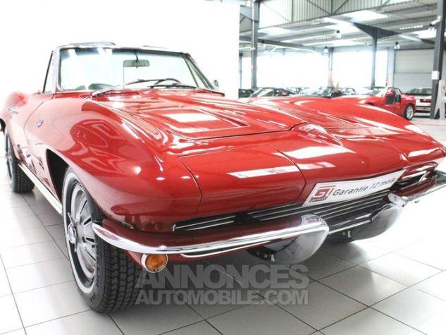 Chevrolet Corvette C2 Cabriolet Roman Red 923 A Occasion - 9