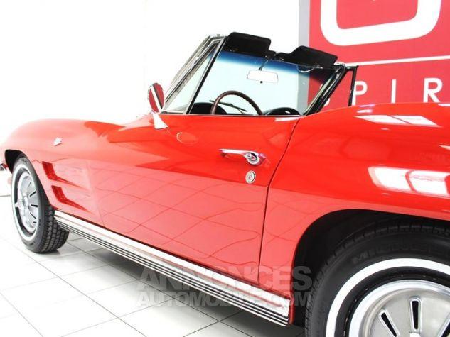 Chevrolet Corvette C2 Cabriolet Roman Red 923 A Occasion - 13