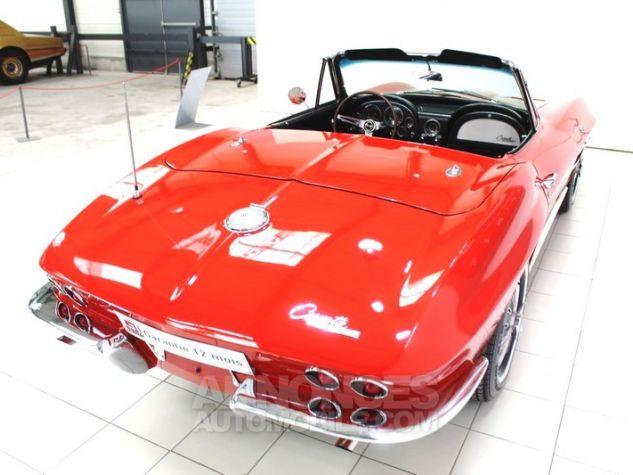 Chevrolet Corvette C2 Cabriolet Roman Red 923 A Occasion - 15