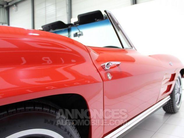 Chevrolet Corvette C2 Cabriolet Roman Red 923 A Occasion - 16