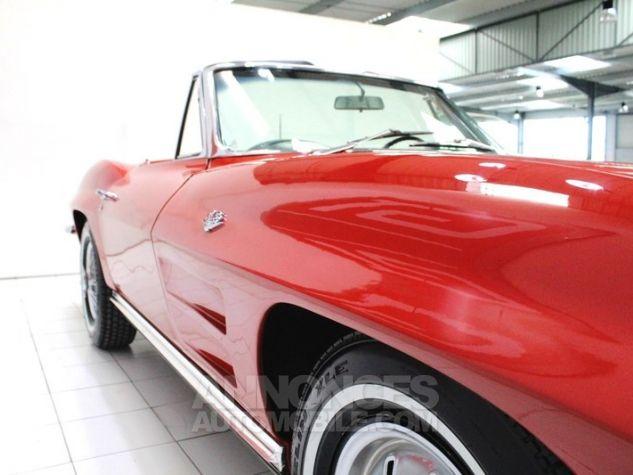 Chevrolet Corvette C2 Cabriolet Roman Red 923 A Occasion - 17