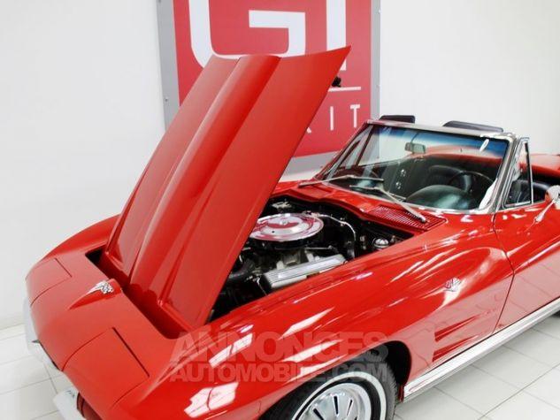 Chevrolet Corvette C2 Cabriolet Roman Red 923 A Occasion - 36