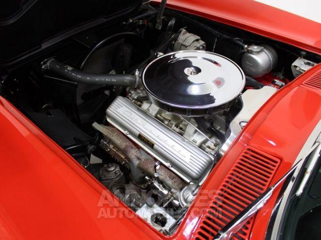 Chevrolet Corvette C2 Cabriolet Roman Red 923 A Occasion - 37