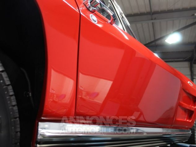 Chevrolet Corvette C2 Cabriolet Roman Red 923 A Occasion - 42