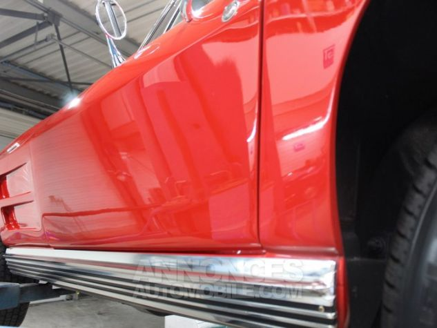 Chevrolet Corvette C2 Cabriolet Roman Red 923 A Occasion - 43