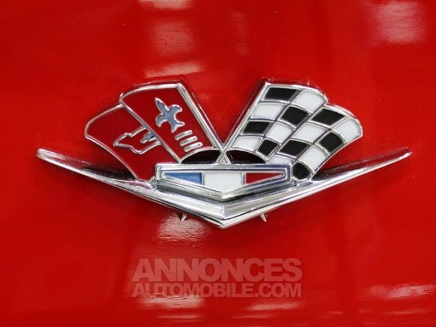 Chevrolet Corvette C2 Cabriolet Roman Red 923 A Occasion - 46